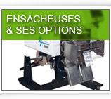 Ensacheuses & ses options